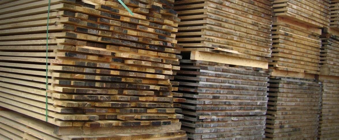 Supjautos medienos rūšiavimas