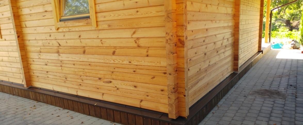 Medinio namo išorė