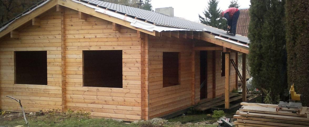 Maison d'été toiture