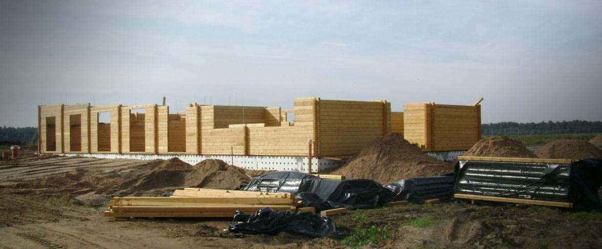 Stables - début de la construction